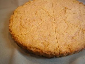 Pumpkin Shortbread