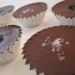 Chocolate-Covered Salted Peanut Cajeta Cups