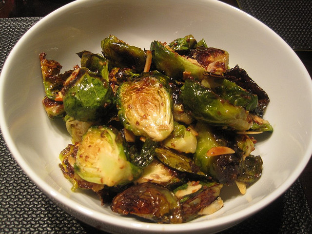 Maple Dijon Roasted Brussel Sprouts | Spache the Spatula