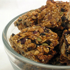Salty-Sweet Granola Bars