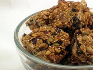 Salty-Sweet Granola Bars
