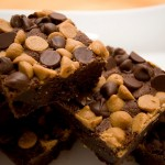 Triple Chocolate Peanut Butter Brownies