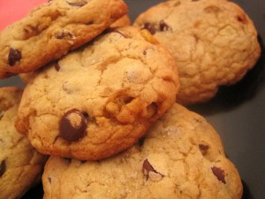 Brown Butter Chocolate Chip Toffee Walnut Cookies
