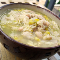 Easy Peasy White Chicken Chili
