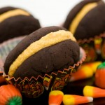 Spiced Chocolate Pumpkin Whoopie Pies