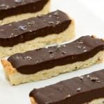 Lavender-Cardamom-Dark Chocolate Tart