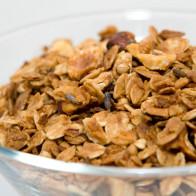Hazelnut-Lavender-Coconut Granola