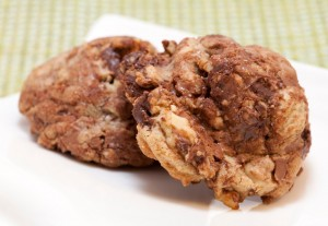 Brown Butter Chocolate Walnut Cookies