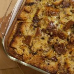 Holiday Bread Pudding with Homemade Spiced Orange-Pistachio-Hazelnut Bread