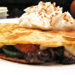 Pumpkin and Black Bean Quesadillas