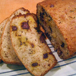 Curry Chocolate Chunk Banana Bread