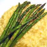 Lemon Risotto with Roasted Asparagus