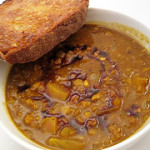 Curried Pumpkin Lentil Soup