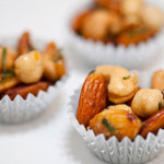 Orange-Rosemary Buttered Mixed Nuts