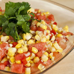 Corn and Watermelon Salsa