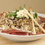 Tarragon Fennel-Apple Salad with Prosciutto di San Daniele and Taleggio