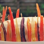 Candied Rainbow Carrots