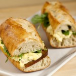 Tarragon Egg Salad Sandwiches with Homemade Lemon-Chive Mayo