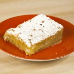 Rosemary and Pine Nut Orange Bars