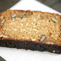 Coconut-Walnut Banana Bread | spachethespatula.com