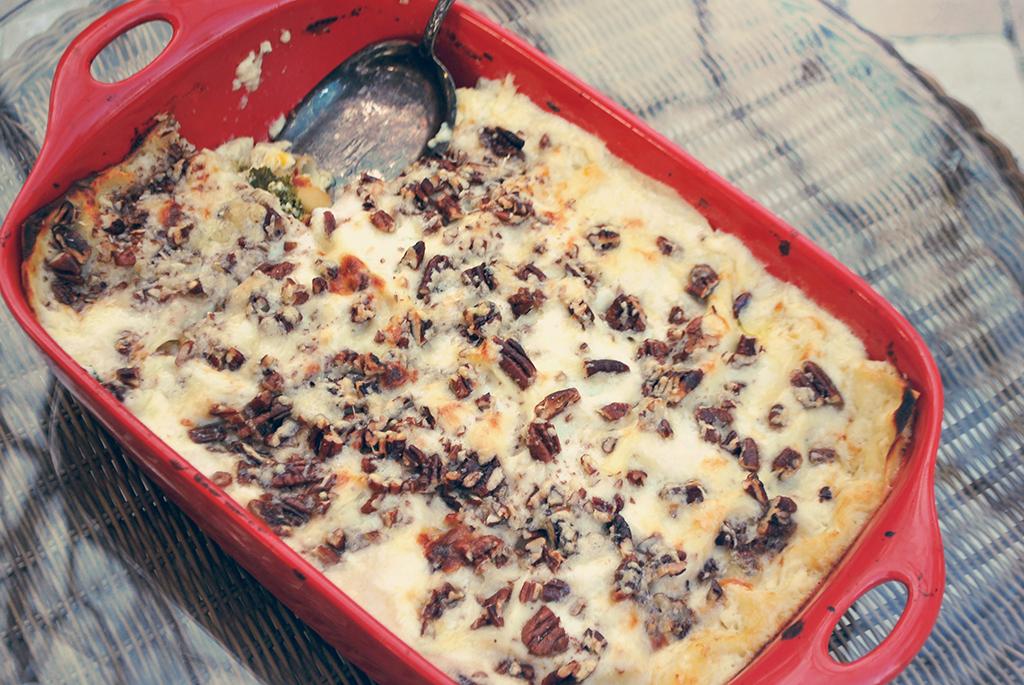 Butternut-Kale Lasagna