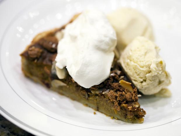 Pumpkin Pie Tart Slice