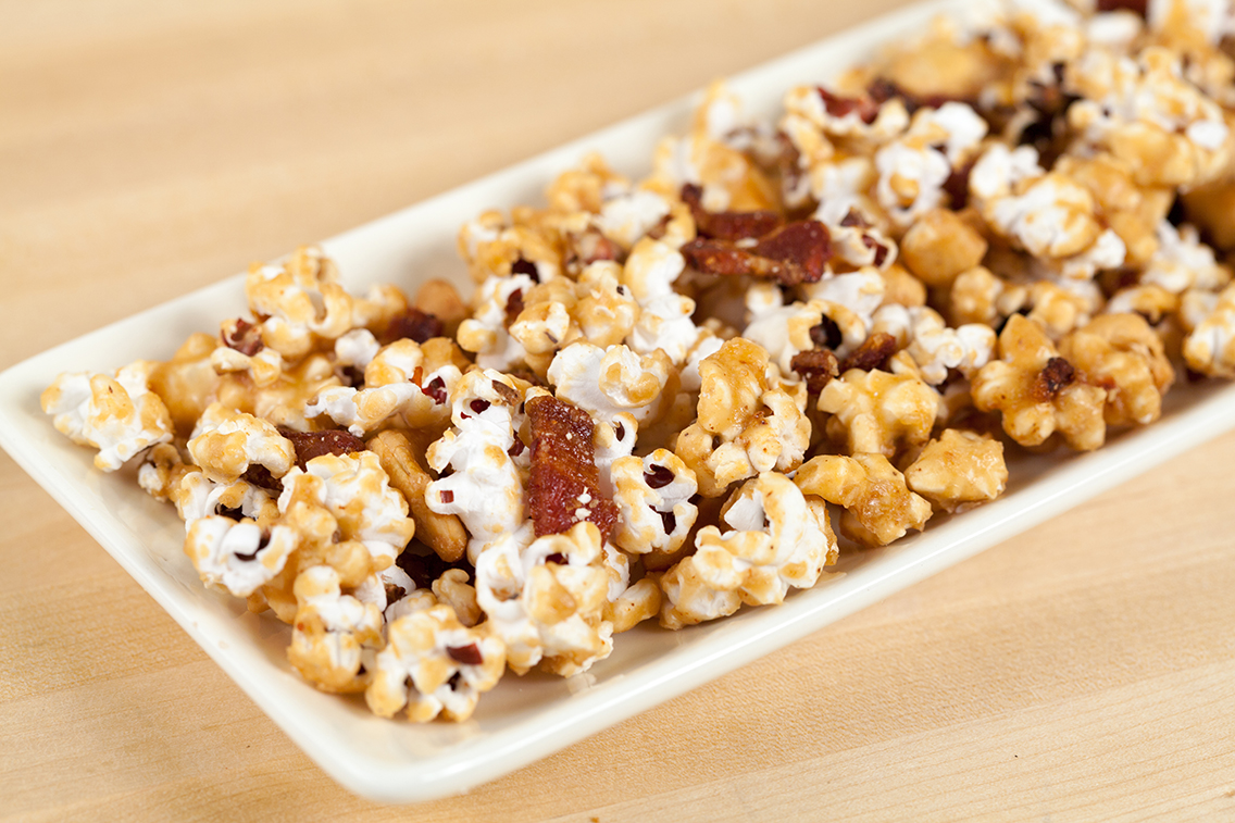 caramel corn bacon and cashew caramel corn bacon caramel cashew corn ...