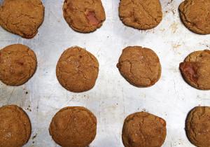 Brown Butter Caramel Snickerdoodles | spachethespatula.com #recipe