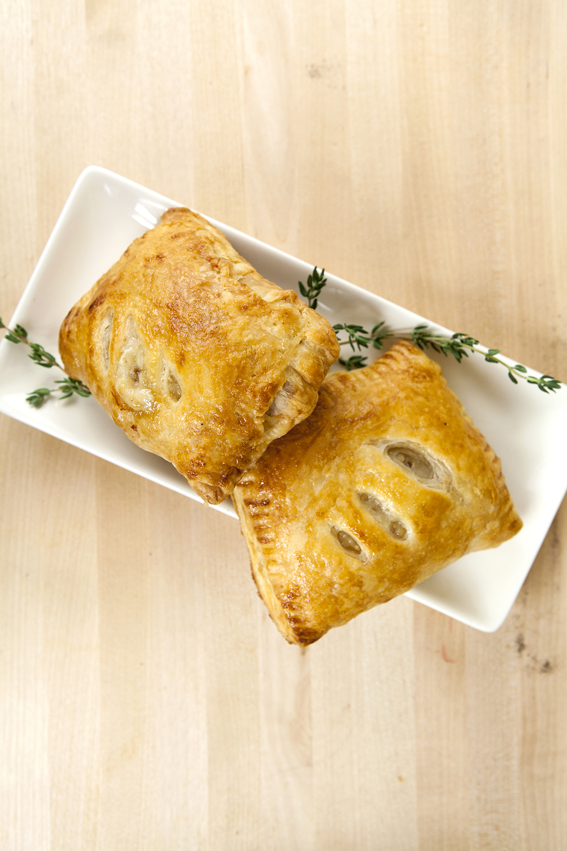 Chanterelle Hand Pies