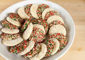 Goat Cheese Sugar Cookies | spachethespatula.com #recipe