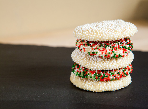 Goat Cheese Sugar Cookies | spachethespatula.com #recipe