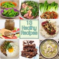 13 Healthy Recipe Ideas For The New Year | spachethespatula.com #recipe