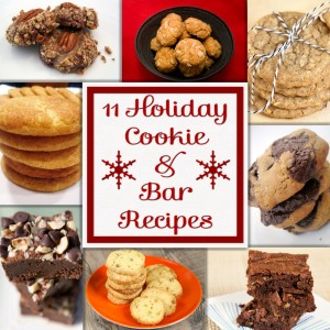 11 Holiday Cookie Recipes | spachethespatula.com
