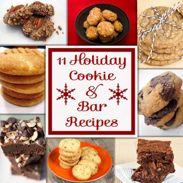 11 Holiday Cookie Recipes | spachethespatula.com