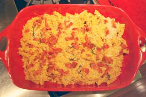Pumpkin Mac & Cheese with Bacon | spachethespatula.com #recipe