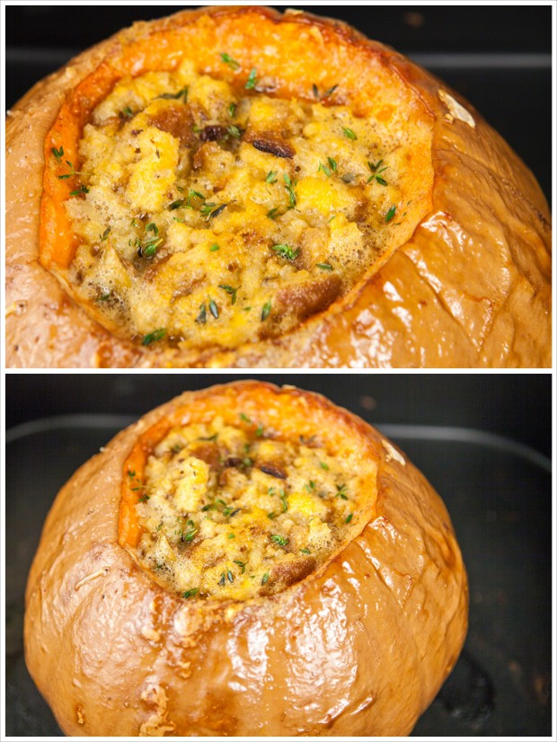 Roast Pumpkin Soup with Gruyère | spachethespatula.com #recipe