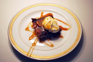 Milk Chocolate and Pretzel Tart with Crème Fraîche and Salted Caramel | spachethespatula.com #recipe
