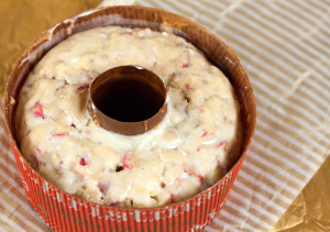 Cranberry Eggnog Cakes | by Spache the Spatula (www.spachethespatula.com)