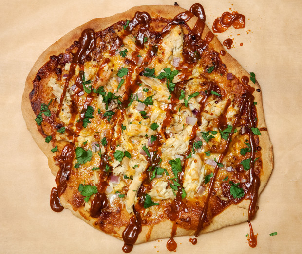 BBQ Chicken & Cheddar Pizza