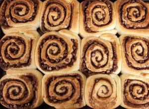 Chocolate Cinnamon Rolls   spachethespatula.com #recipe