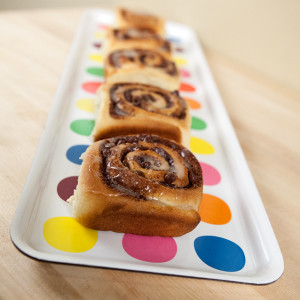 Chocolate Cinnamon Rolls | spachethespatula.com #recipe