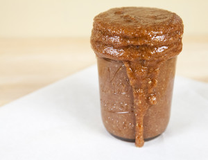 Coffee Almond Butter | spachethespatula.com #recipe