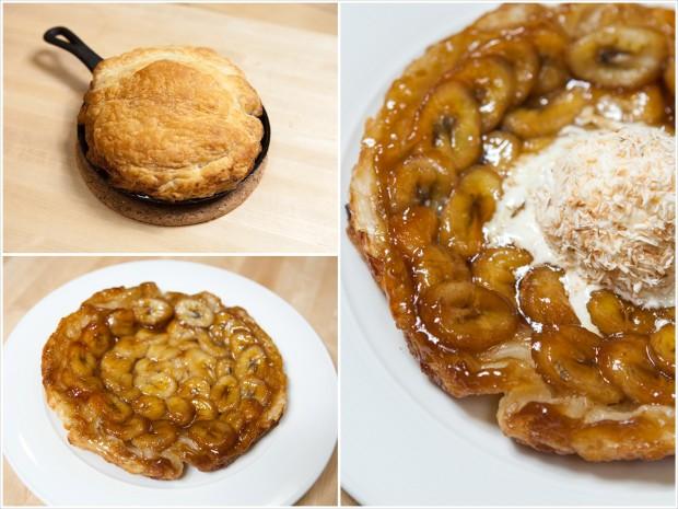 Mini Banana Tarte Tatin | spachethespatula.com #recipe