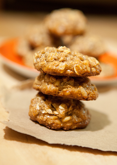 Orange-Tahini Pine Nut Cookies