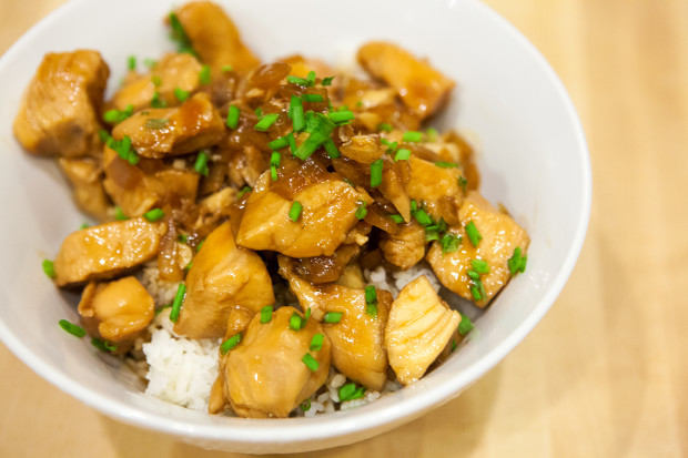 Slow-Cooker Teriyaki Chicken | spachethespatula.com #recipe