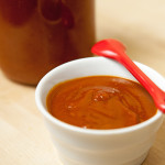 Spicy-Sweet BBQ Sauce | spachethespatula.com #recipe