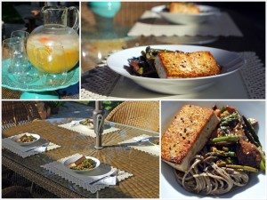 Soba Noodles with Miso-Glazed Tofu and Veggies | spachethespatula.com #recipe #vegan