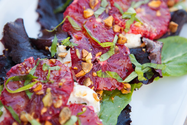 Blood Orange and Burrata Salad | spachethespatula.com #recipe