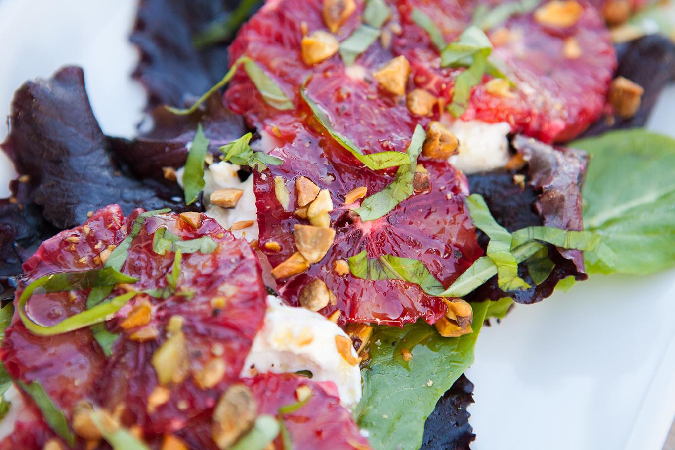 quinoa parfait blood orange and salmon salad with blood orange ...