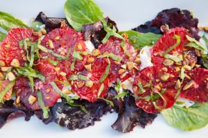 Blood Orange and Burrata Salad | spachethespatula.com #recipe